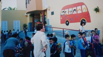 Skolestart på spansk skole